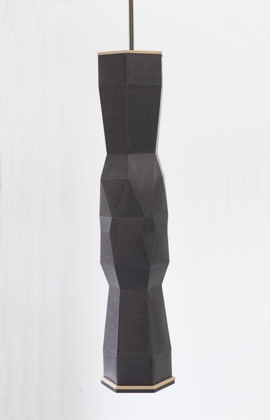 Paper, wood \r<br>80 x  Ø 22 cm\r\n\r\nPhoto: Pablo Ocqueteau, courtesy Galerie Gilla Loercher