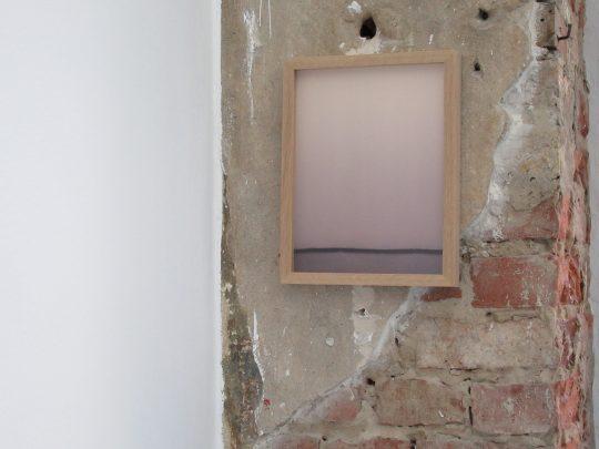 Red wine and blotting paper \r<br>23,5 x 29,5 cm \r\nUnique pieces \r\n\r\nPhoto: Gilla Loercher, courtesy the artist
