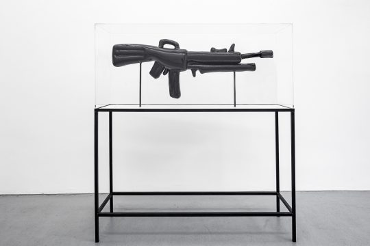 Acrystal varnished, steel, acrylic\r<br>136 cm H x 130 cm L x 36 cm B \r\n\r\nPhoto: Cordia Schlegelmilch