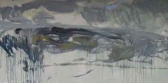 Öl auf Leinwand \r<br>120 x 240 cm\r\n\r\nPhoto: Simone Strasser