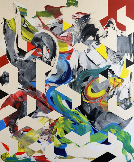 Acrylic on canvas <br>180 x 150 cm\n\nPhoto: the artist