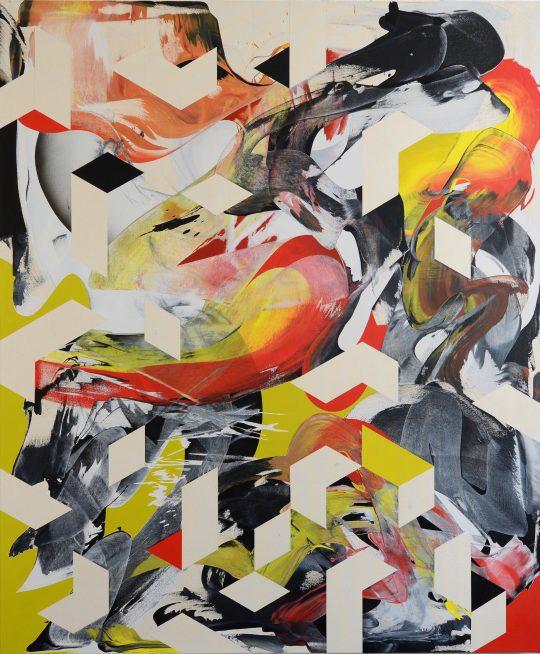 Acrylic on canvas \r<br>180 x 150 cm\r\n\r\nPhoto: the artist