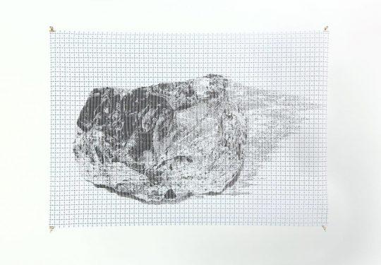 Graphite on Paper <br>60 x 80 cm \nPhoto: Cordia Schlegelmilch