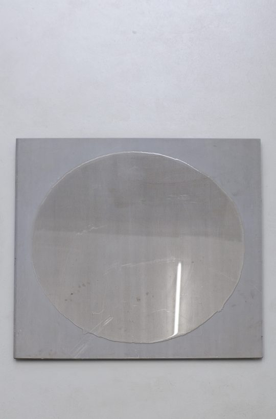 hydrophobic bomb and water, \r<br>variable size \r\n\r\nPhoto: Pablo Ocqueteau, courtesy Galerie Gilla Loercher
