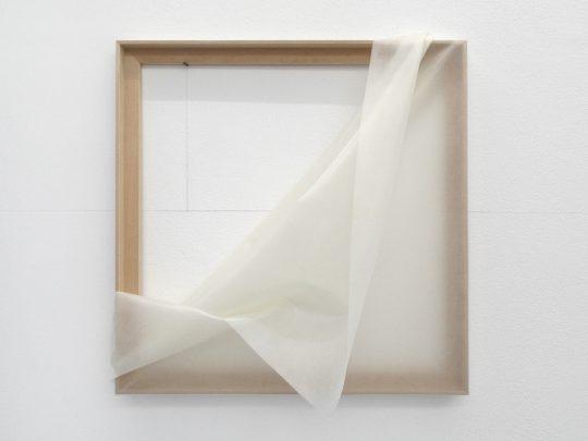 silicone and wood <br>50 x 50 cm\n\nPhoto: Gilla Loercher, courtesy the artist
