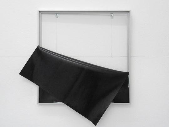 rubber and aluminum <br>50 x 50 cm\n\nPhoto: Gilla Loercher, courtesy the artist