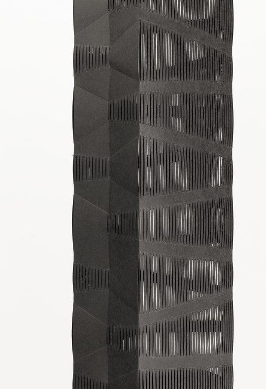 Paper \r<br>H 192 cm. Ø 26 cm\r\n\r\nPhoto: CHROMA, courtesy Galerie Gilla Loercher and the artist