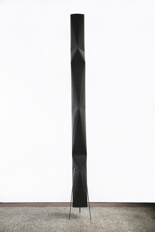 Paper, metal\r<br>210 h x average width 15-20 cm\r\n\r\nPhoto: Francisco Rozas