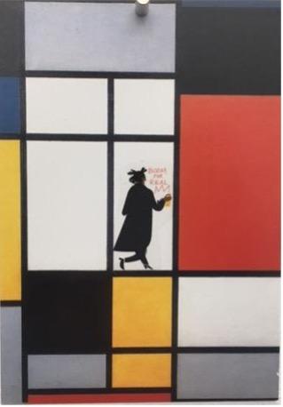 Collage auf Postkarte \r<br>14,7 x 10,5 cm\r\n\r\nPhoto: Gilla Loercher