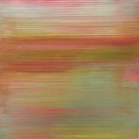Acryl/Pigmente auf Aluminium \r<br>30 x 30 cm\r\n\r\nPhoto: Gilla Loercher