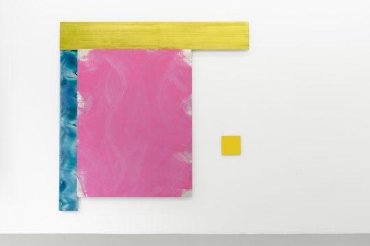 4 parts. All: 200 x 200 cm\r<br>acrylic/ pigments on aluminium\r\n\r\nPhoto: CHROMA, courtesy Galerie Gilla Loercher