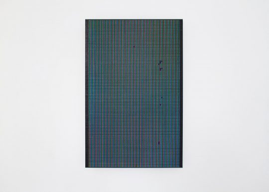 oil on paper, mounted on aluminium composite sheet <br>60 x 40 cm