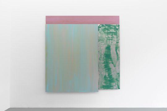 3 parts. All: 170 x 170 cm\r<br>acrylic/pigments on aluminium\r\n\r\nPhoto: CHROMA, courtesy Galerie Gilla Loercher