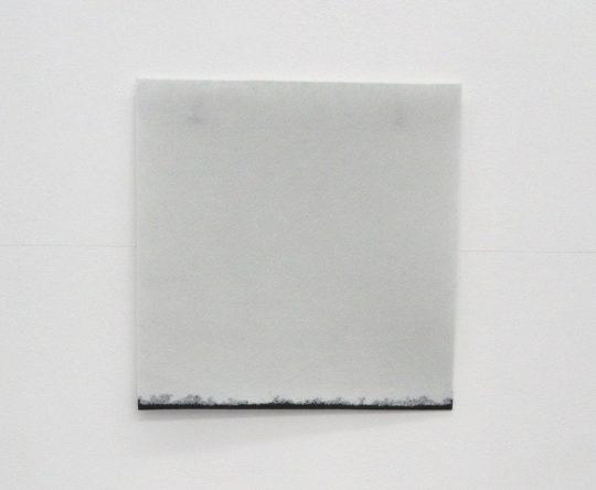 ink on felt <br>50 x 50 cm\n\nPhoto: Gilla Loercher, courtesy the artist