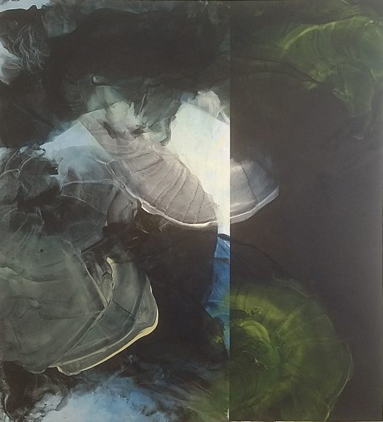 Egg tempera on canvas \r<br>240 x 220 cm \r\n\r\nPhoto: Ute Schendel