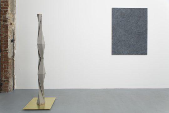 Painting: Ivan Liovik Ebel; Sculpture: Francisco Rozas\r<br>\r\nPhoto: Pablo Ocqueteau, courtesy Galerie Gilla Loercher