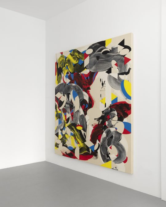 Acrylic on canvas \r<br>180 x 150 cm\r\n\r\nPhoto: CHROMA, courtesy Galerie Gilla Loercher