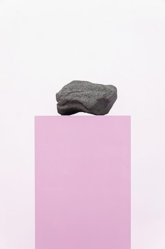 Concrete, wood, paint<br>Dimensions variable\n\n\nPhoto: André Kirchner, courtesy Galerie Gilla Loercher and the artist\n