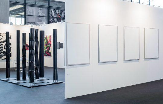 \n\tGalerie Gilla Lörcher at art Karlsruhe : \n\tAb van Hanegem, Ivan Liovik Ebel, Francisco Rozas\n\t