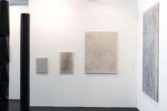 Paintings: Ivan Liovik Ebel\r<br>\r\nPhoto: Ute Schendel, courtesy Galerie Gilla Loercher