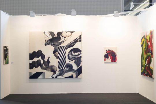 Paintings by Ab van Hanegem\r<br>\r\nPhoto: Ute Schendel, courtesy Galerie Gilla Loercher