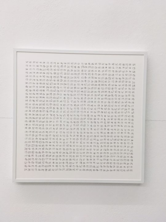 ink on paper \r<br>30 x 30 cm\r\n\r\nPhoto: Gilla Loercher, courtesy the artist