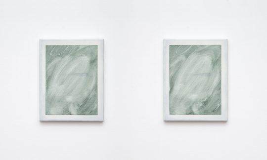 Oil on canvas, 2 parts, <br>each 38 x 30 cm \n\nPhoto: Ivan Liovik Ebel