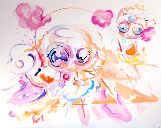 Acrylic on canvas \r<br>200 x 250 cm\r\n \r\nPhoto: Bettina Sellmann