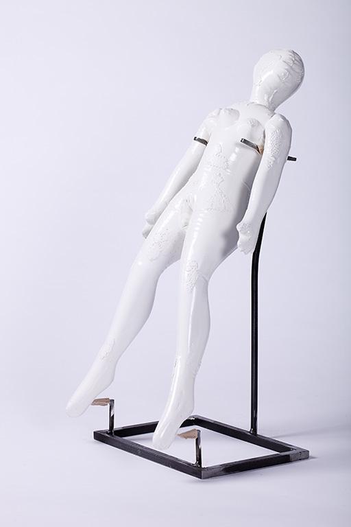 Acrystal, varnish, \r<br>65 x 32 x 28 cm \r\n\r\nPhoto: Cordia Schlegelmilch, courtesy Galerie Gilla Loercher
