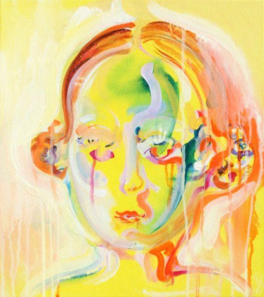 Acrylic on canvas \r<br>45 x 40 cm \r\n\r\nPhoto: Bettina Sellmann
