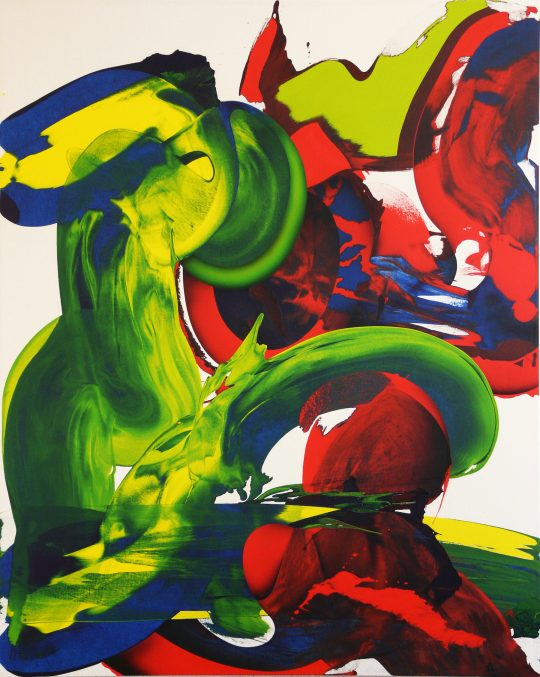 Acryl auf Leinwand <br>150 x 120 cm \nPhoto: Ab van Hanegem