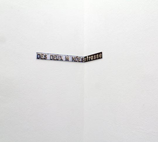Paper work \r<br>67 x 5 cm \r\n\r\nPrivate collection \r\nPhoto: Manuel Salvat