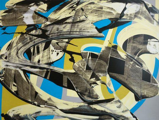 Acrylic on paper \r<br>45 x 60 cm \r\n\r\nPhoto: Ab van Hanegem