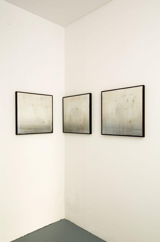 Paintings Ettore Frani\r<br>\r\nPhoto: Cordia Schlegelmilch, courtesy Galerie Gilla Loercher