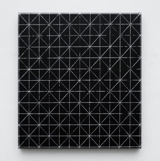 Öl und Acryl auf Leinwand <br>35 x 32 cm \nPhoto: Ivan Liovik Ebel