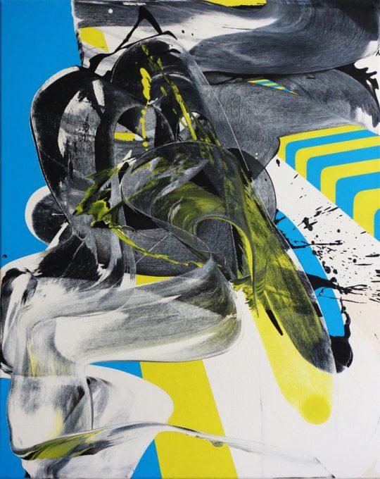 Acrylic on canvas\r<br>100 x 80 cm \r\n\r\nPhoto: Ab van Hanegem