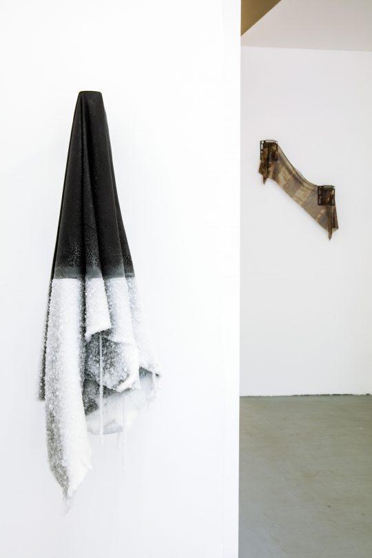Left: Capucine Vandebrouck, right: John Cornu \r<br>\r\nPhoto: Cordia Schlegelmilch, Courtesy Galerie Gilla Loercher