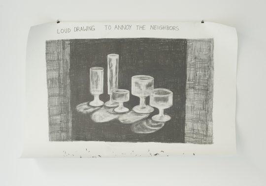 Pencil and eraser \r<br>120 x 85 cm\r\n\r\nPrivate collection\r\nPhoto: Ljupcho Temelkovski, courtesy Galerie Gilla Loercher