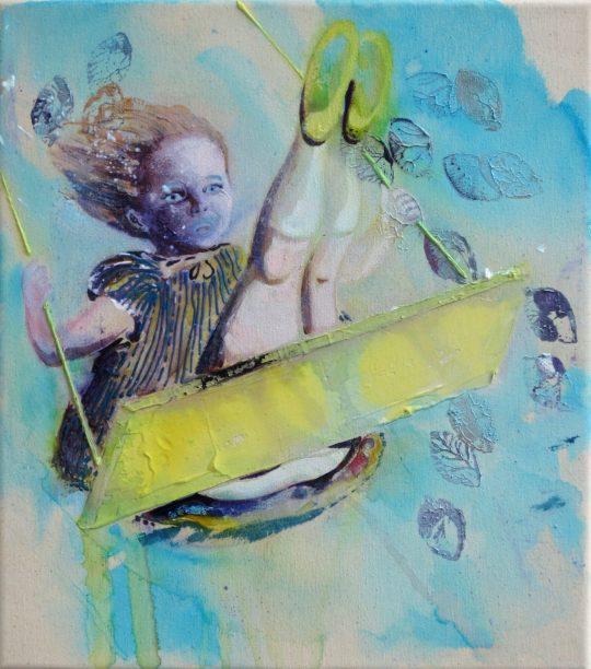 Acrylic on canvas \r<br>45 x 40 cm\r\n\r\nPrivat collection\r\nPhoto: Cordia Schlegelmilch
