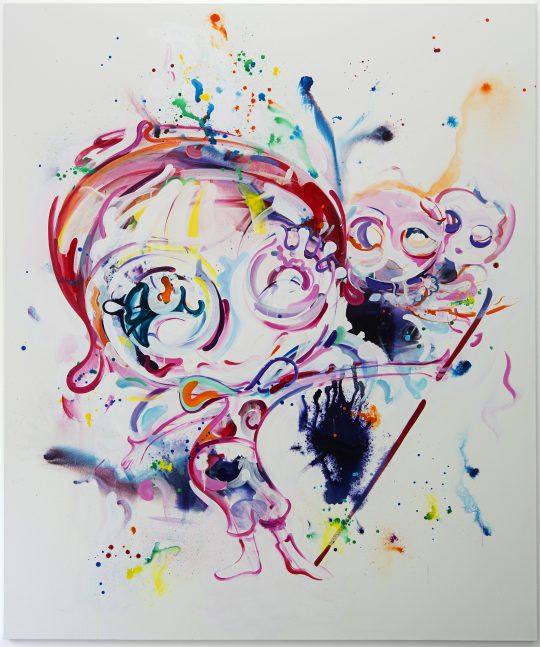Acrylic on canvas \r<br>200 x 240 cm \r\n\r\nPrivate collection.\r\nPhoto: Cordia Schlegelmilch, courtesy Galerie Gilla Loercher
