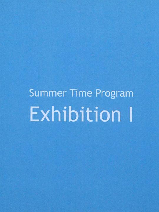 \n\tSummer Time Program Exhibition I: Zeichnungen : \n\tJürgen Eisenacher, Monika Romstein, Barbara Sturm\n\t