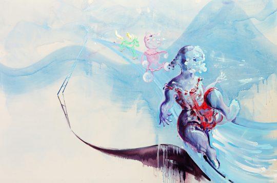 Acrylic on canvas \r<br>280 x 210 cm\r\n\r\nPhoto: Cordia Schlegelmilch
