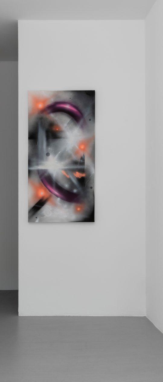 Views, Untitled 2021\r<br>Acrylic on canvas\r\n120 x 60 cm