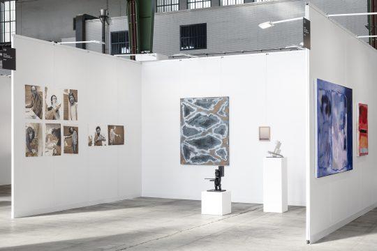 \n\tGalerie Gilla Loercher at POSITIONS Berlin Art Fair 2021 : \n\tClaudia Zweifel, Ute Schendel, John Cornu\n\t