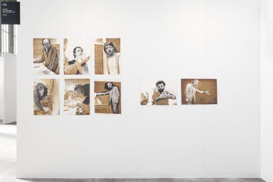 Vintage Portraits, Ute Schendel. Booth Galerie Gilla Loercher, Positions Berlin Art Fair 2021