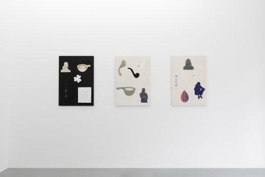 Claudia Zweifel at Galerie Gilla Loercher, 2021<br>\nPhoto: CHROMA, courtesy Galerie Gilla Loercher and the artist
